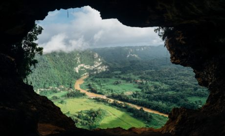 a hidden view from a cave to represent hidden benefits from coaching