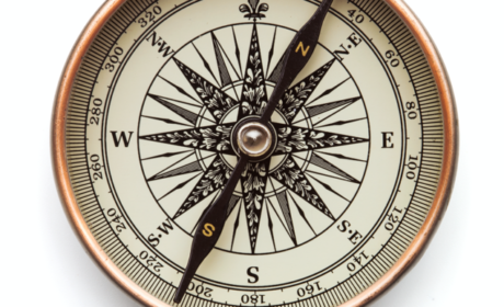 compass to show the importance of setting direction in your career development