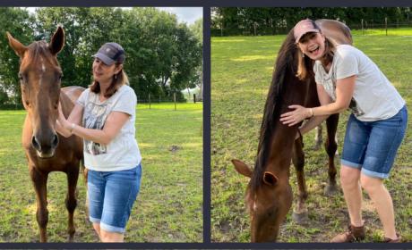 Rachel with horse